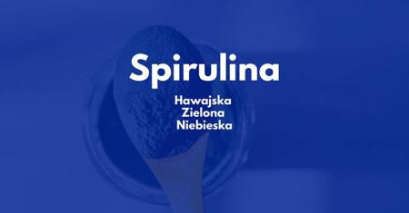 Spirulina hawajska czy niebieska Blue Majik